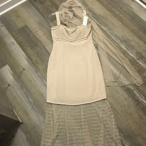 Brand new with tags Oleg Cassini couture dress